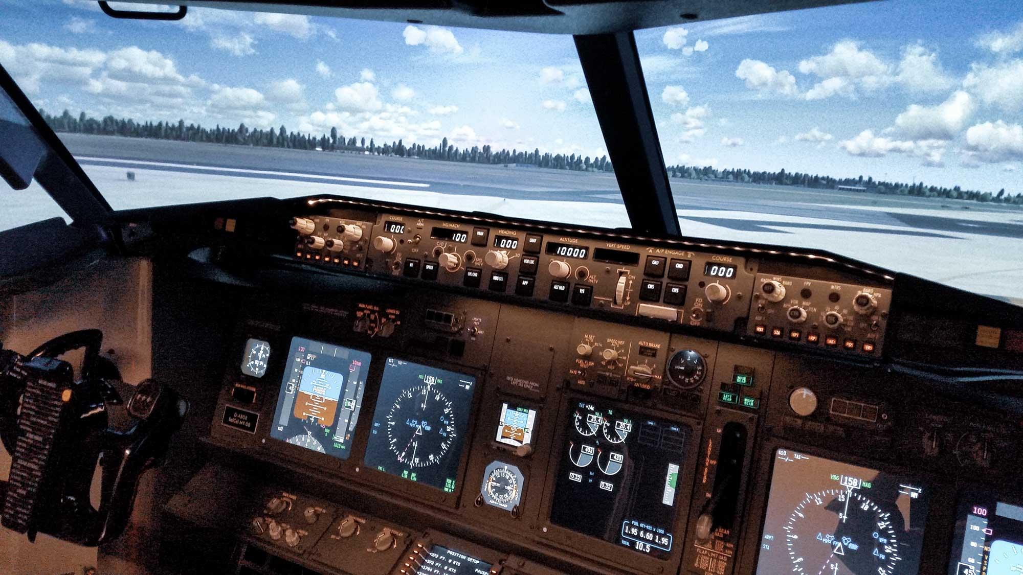 VERUM GmbH - Flugsimulator- Fact Feel Fly- view my Cockpit