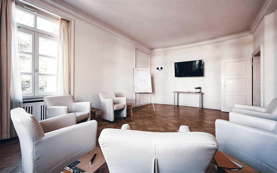 VERUM GmbH Office Space - Kleiner Seminarraum