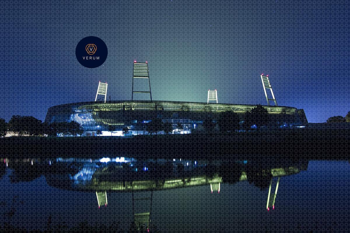 Weserstadion | Werder Bremen bei Nacht